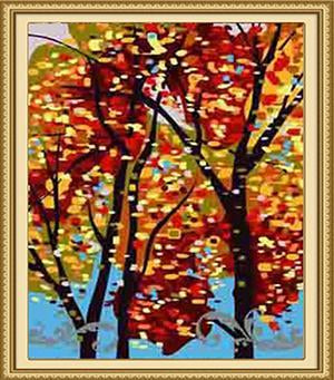 Stained Glass Art Paint by Numbers