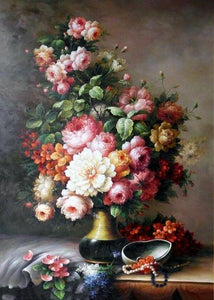 Still Life  Flowers Paint by Numbers