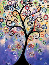 Load image into Gallery viewer, Tree of Life Paint by Diamonds