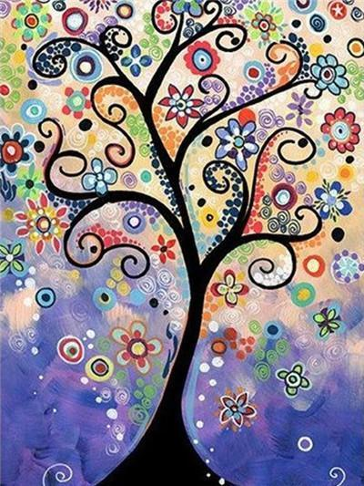 Tree of Life Paint by Diamonds