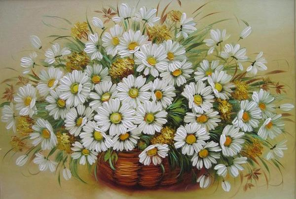 Tremendous Daisies Paint by Numbers