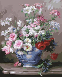 Tremendous Flowers Paint by Numbers