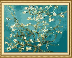 Van Gogh's Almond Blossoms Paint by Numbers