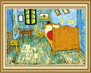 Van Gogh's Bedroom at Arles Paint by Numbers
