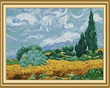 Load image into Gallery viewer, Van Gogh's Wheat Fields Paint by Numbers