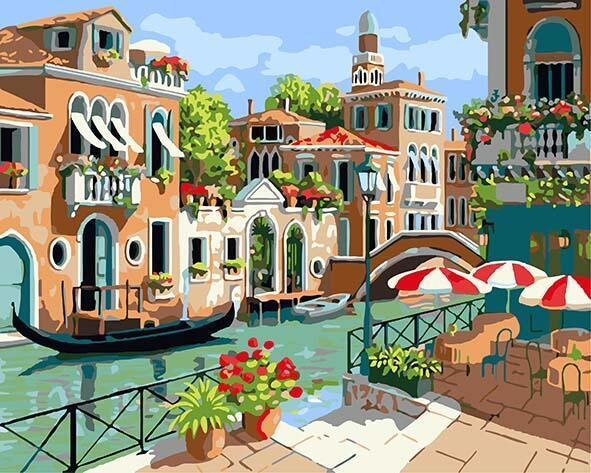 Venice Sunshine Paint by Numbers