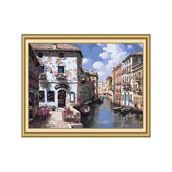 Venice View Paint by Numbers