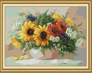 Vibrant Flowers Paint by Numbers