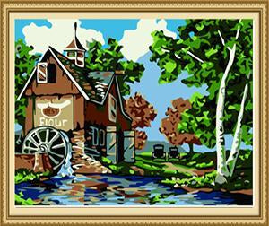 Watermill Paint by Numbers