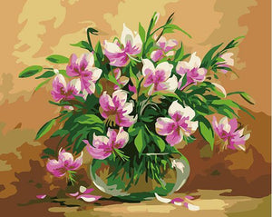 Wondrous Lilies Paint by Numbers