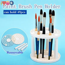 Load image into Gallery viewer, Paint Brush Holder - Can Hold 49 Pens/brushes