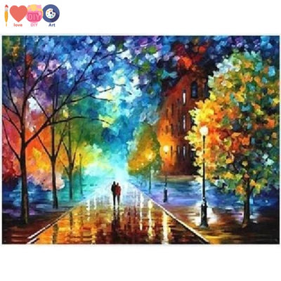 Landscape Diy Painting By Numbers Beautiful Wall Art Gift