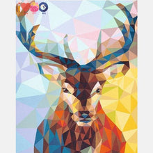Load image into Gallery viewer, Wild Deer Abstract Paint By The Numbers