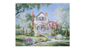 Beautiful Castle & Garden DIY - Painting By Numbers