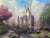 Rainbow and Castle in the Forest Painting - Paint by Numbers Kit