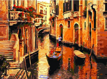 Load image into Gallery viewer, Venice Street Vintage Painting