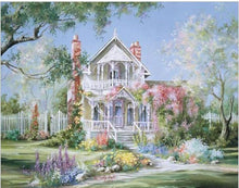 Load image into Gallery viewer, Beautiful Castle & Garden DIY - Painting By Numbers