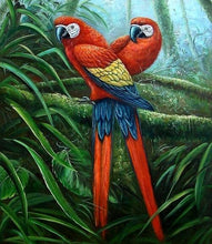 Load image into Gallery viewer, Beautiful Animal and Birds Painting - Paint by Numbers