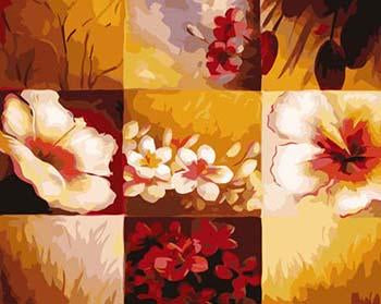 Colorful Flowers and Birds DIY Painting and 24 other Paintings - Paint by Numbers