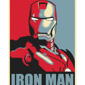 Iron Man Art by Numbers
