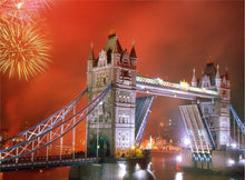 Load image into Gallery viewer, London Bridge and Fireworks at Night - 2 Variants