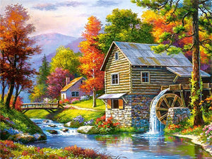 Stunning Scenery Patterns for Diamond Painting