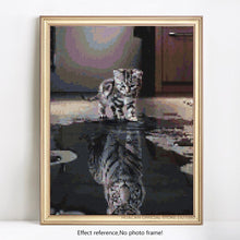 Load image into Gallery viewer, Cat in the Mirror