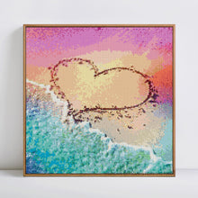 Load image into Gallery viewer, Heart On the Beach