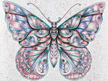 Load image into Gallery viewer, Diamond Painting kit - Colorful Butterfly Painting 4 Variants