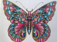 Load image into Gallery viewer, butterfly diamond painting