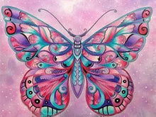 Load image into Gallery viewer, diamond art butterfly
