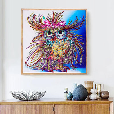 Special Diamonds Owl Painting Kit