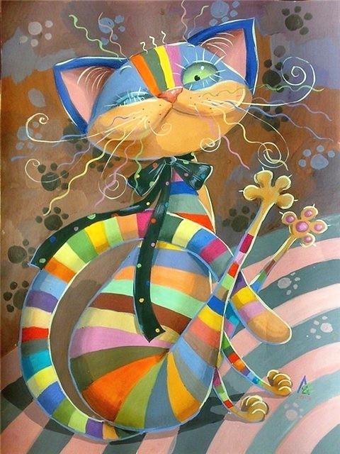 Colorful Cats Diamond Painting Kits