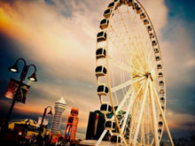 Load image into Gallery viewer, Ferris Wheel Painting - Paint by Numbers