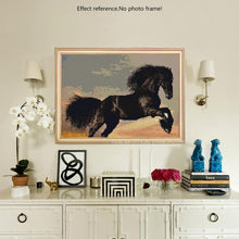 Load image into Gallery viewer, Black Horse Painting - DIY Painting Kit for Adults