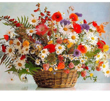 Load image into Gallery viewer, Colorful Flowers Painting DIY - Paint by Numbers