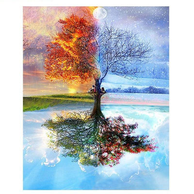 4 Seasons Painting - Paint Yourself or Gift your friend