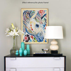 Painted Elephant Diamond Paint kit