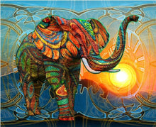 Load image into Gallery viewer, elephant diamond painting