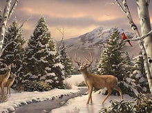 Load image into Gallery viewer, deer diamond painting kit