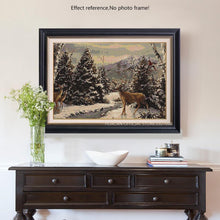 Load image into Gallery viewer, Deer in the Winter Diamond Painting