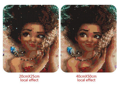 Disney Moana Cartoon Diamond Painting