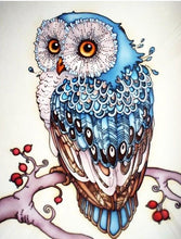Load image into Gallery viewer, owl diamond painting