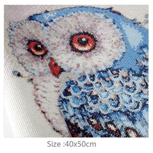 Load image into Gallery viewer, Stunning Colorful Owl Diamond Painting Kit