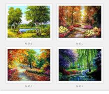 Load image into Gallery viewer, Landscape Paint with Diamond Kits