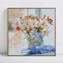 Load image into Gallery viewer, Flower Vase Diamond Painting
