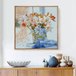Flower Vase Diamond Painting