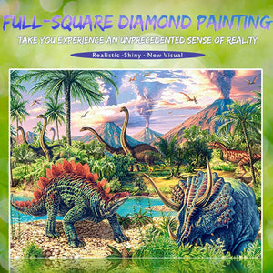 Dinosaurs & Dragons Diamond Painting