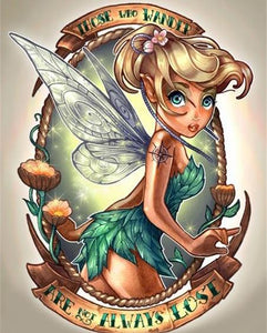 fairy girl diamond painting