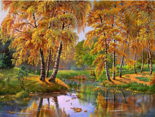 Load image into Gallery viewer, painting diamond autumn